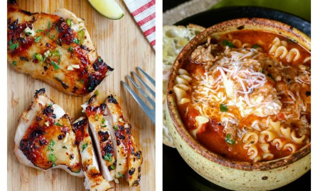 Next week's meal plan: 5 easy recipes for the week ahead, from a chicken dinner that cooks in 10 to a fun twist on lasagna.