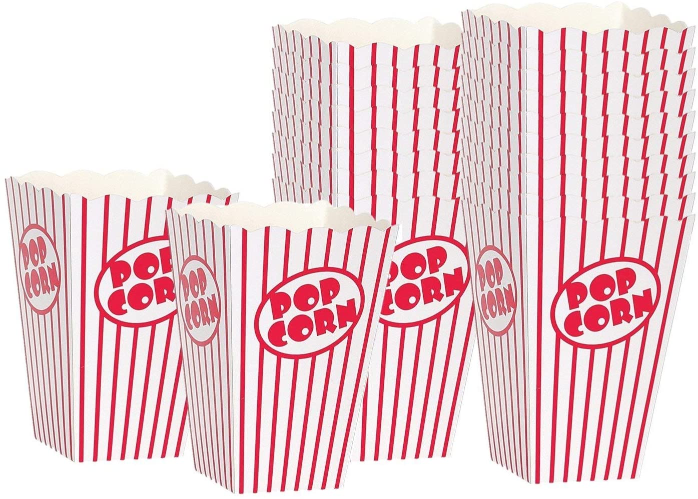 Movie theater popcorn boxes make Oscars night a little more fun at home with the kids