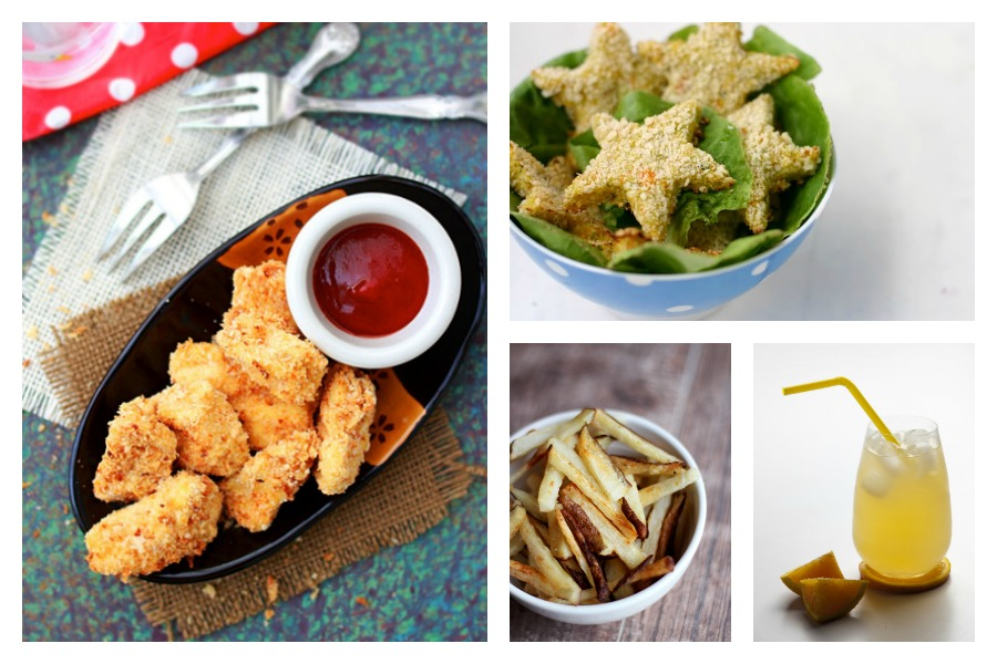 Copycat kids meal recipes: Healthy chicken nuggets, easy homemade french fries, and DIY all natural soda.