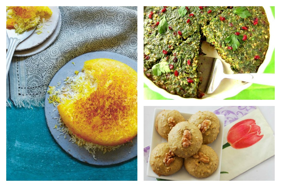 Celebrate Nowruz, the Persian and Zoroastrian New Year, with recipes from some of our  favorite Persian bloggers.