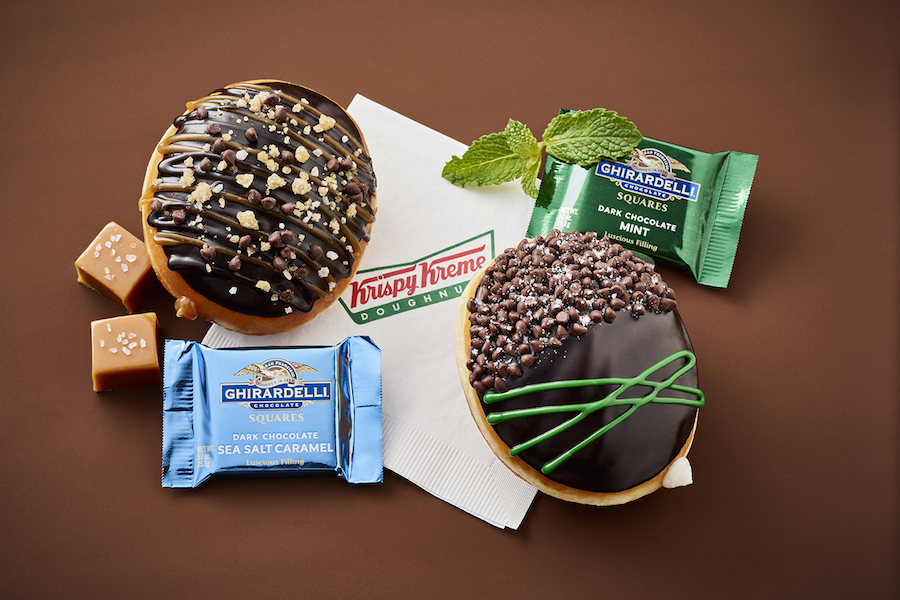 Web Coolness: Ghirardelli meets Krispy Kreme, a unicorn Frappuccino at Starbucks, and the dark side of Easter food.