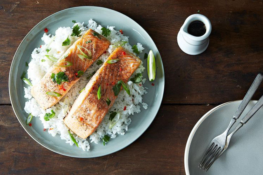 Next week's meal plan: 5 easy recipes for the week ahead, from a cheater's version of a classic salmon dish to the ultimate burger.