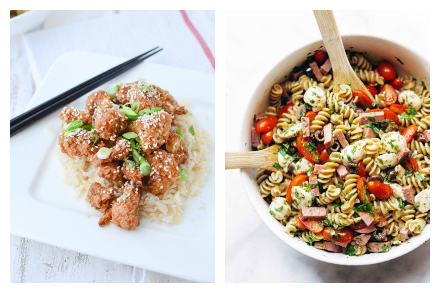 Next week's meal plan: 5 easy recipes for the week ahead, from a vegetarian version of your favorite take out to the ultimate cold pasta salad.