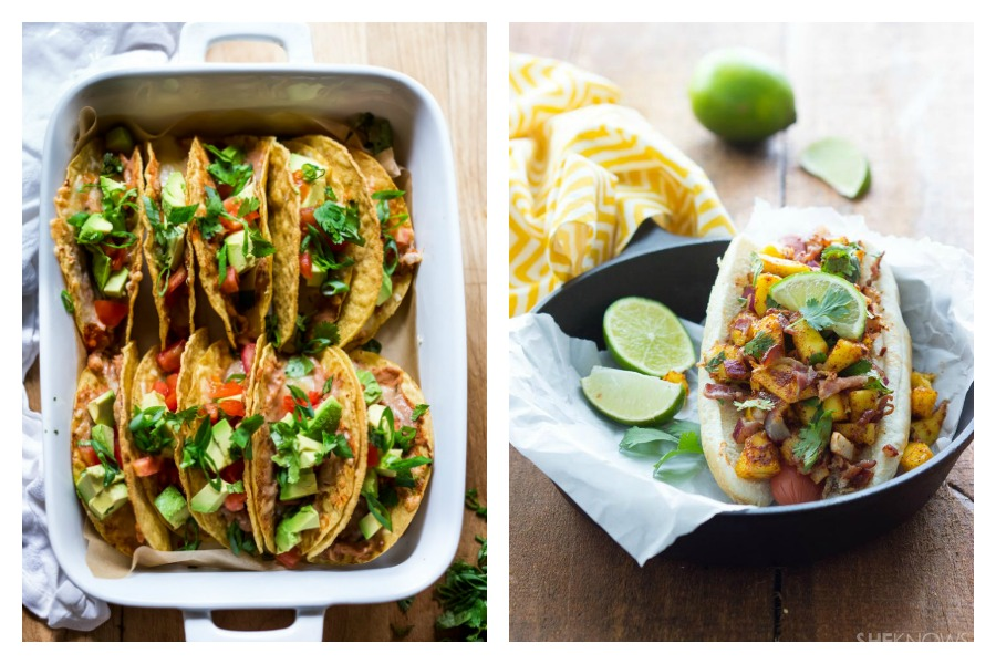 Next week's meal plan: 5 easy recipes for the week ahead, from oven BBQ chicken to easy baked tacos.