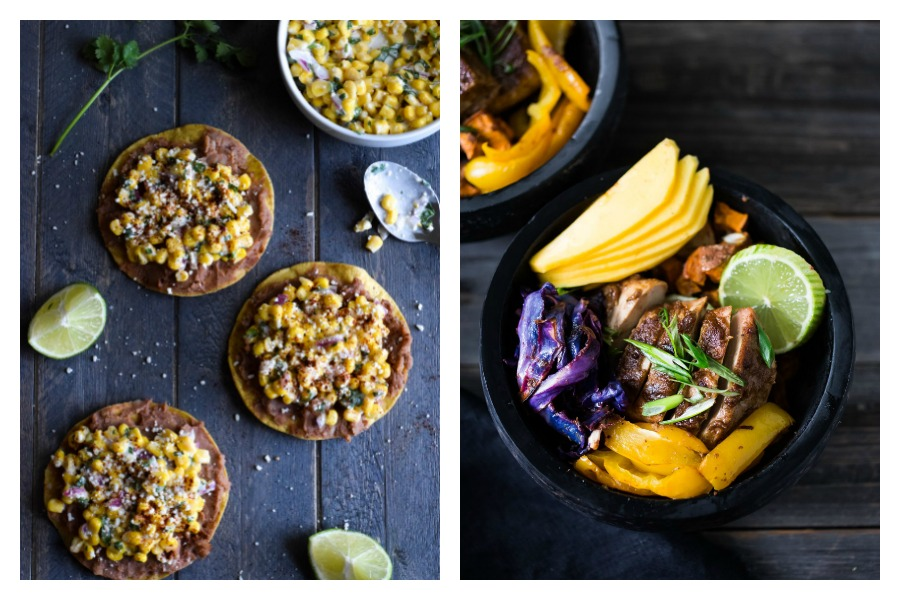 Next week's meal plan: 5 easy recipes for the week ahead, from 15-minute Street Corn Tostadas to health on a sheet pan.