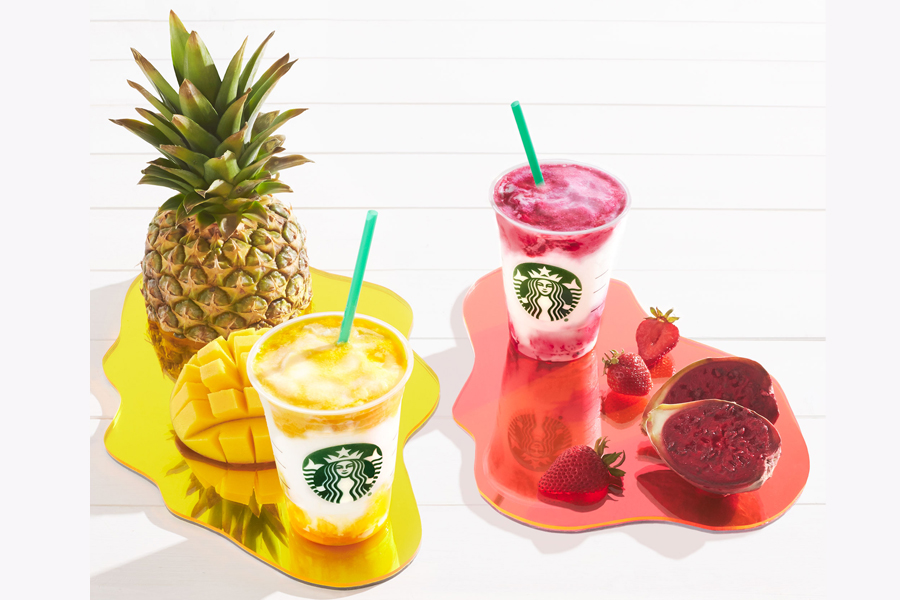 The most summery Starbucks Frappucinos yet: Meet the two newest Starbucks drinks.
