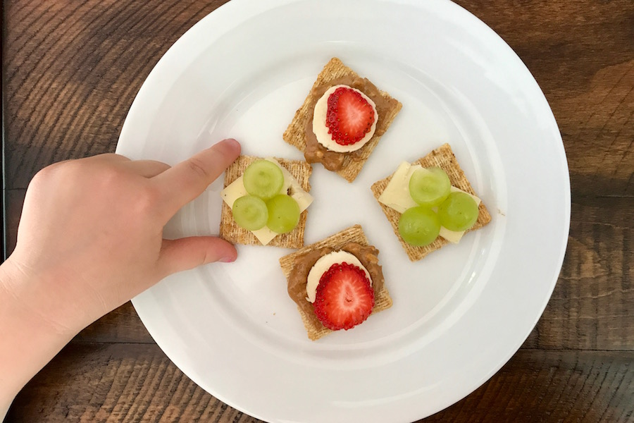 Beyond cheese: 24 fast, healthy ideas to top crackers for kids.