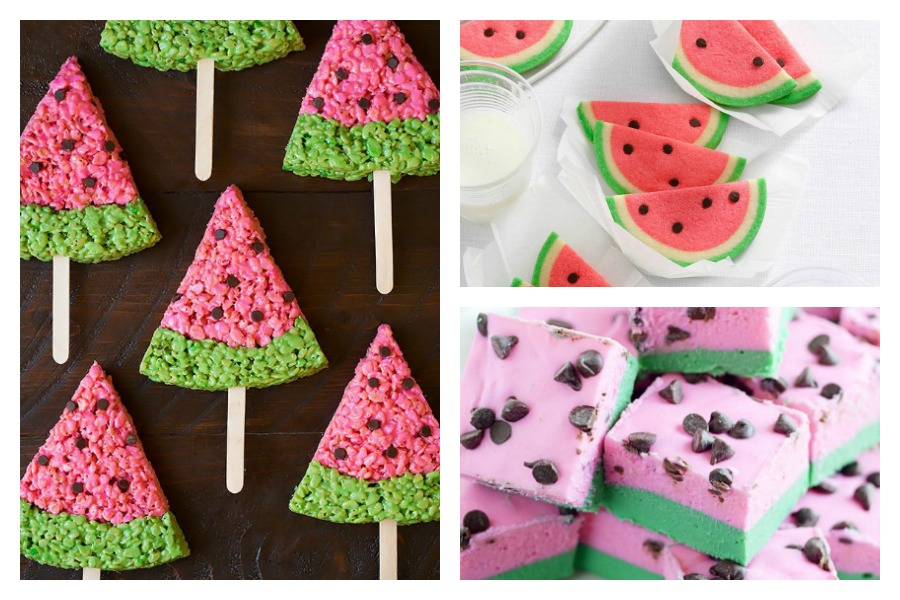 8 watermelon inspired treats that are as fun to look at as they are delicious to eat.