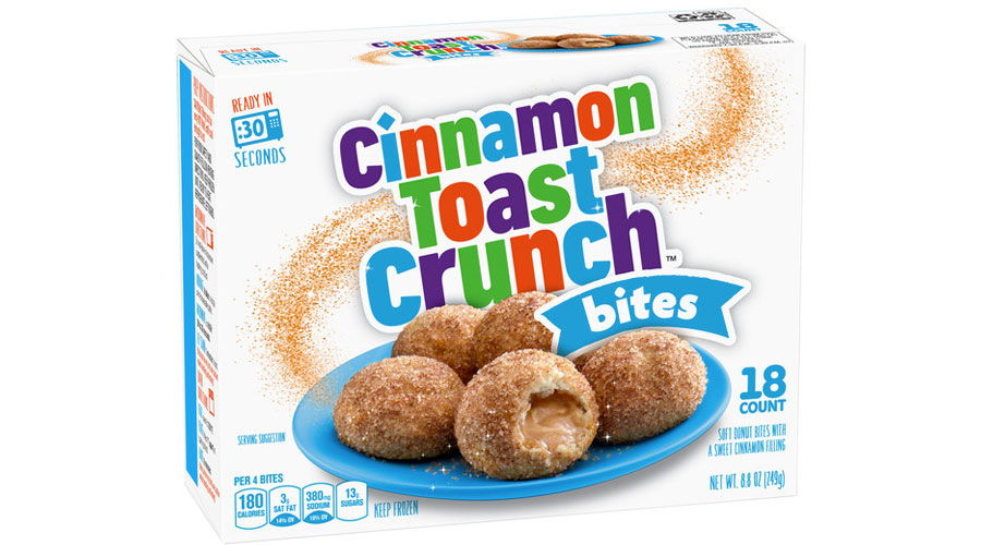 Among the newest offering from General Mills: Cinnamon Toast Crunch Bites. Be still our hearts. | Cool Mom Eats