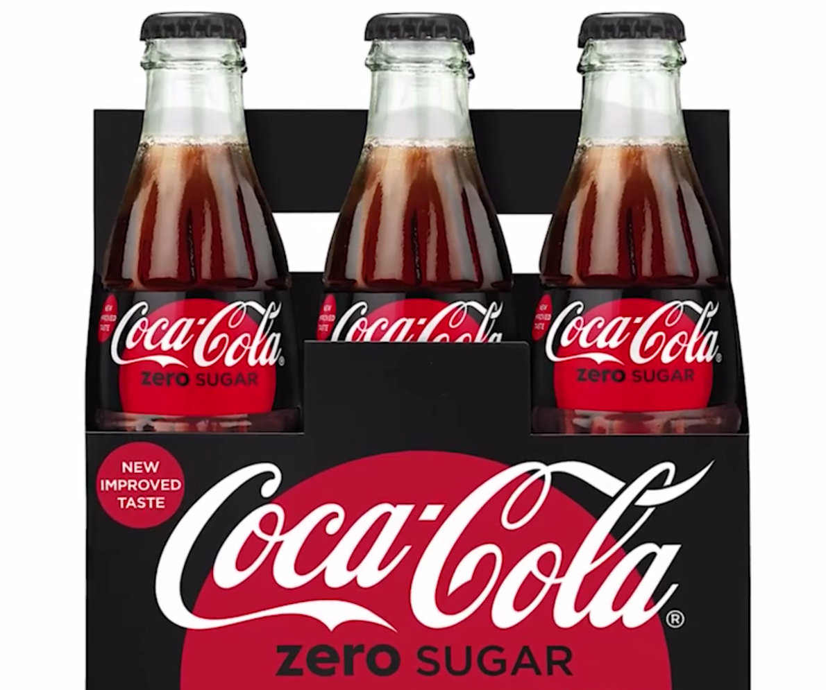 Coke Zero becomes Coke Zero Sugar