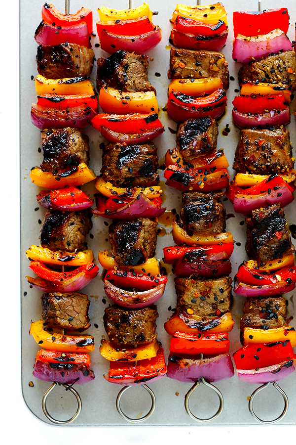 Cool Mom Eats weekly meal plan: Korean Steak Kebabs | Gimme Some Oven