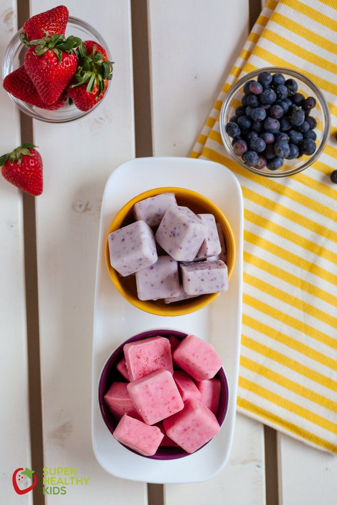 Low sugar teething snacks: Froyo Bites | Super Healthy Kids