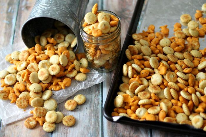 Best travel snack recipes: Ranch Goldfish Mix at Life with the Crust Off