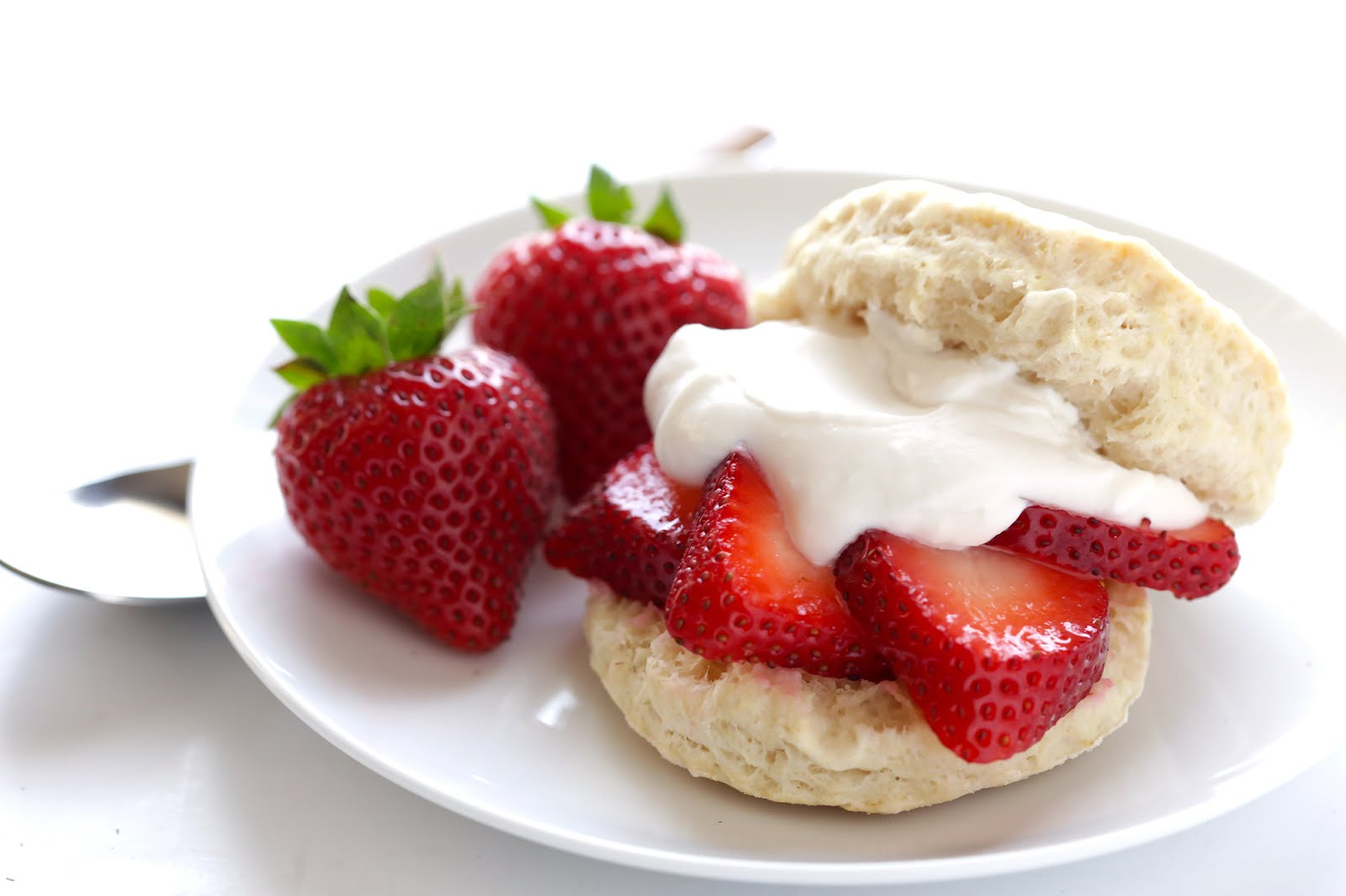 We're obsessed with this dairy free whipped cream made with coconut cream -- and we're not even dairy-free or vegan eaters. So good! Especially topped on this Vegan Strawberry Shortcakes at Gimme Some Oven.