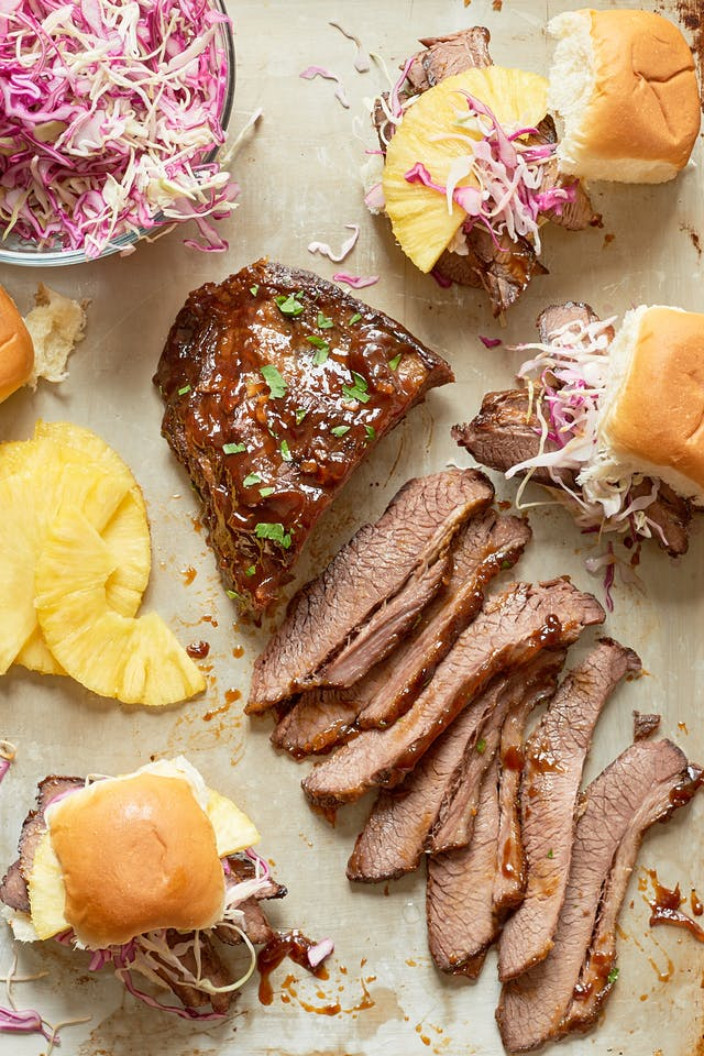 Slow cooker and Instant Pot recipes for summer: low Cooker Hawaiian Brisket Sandwiches | The Kitchn