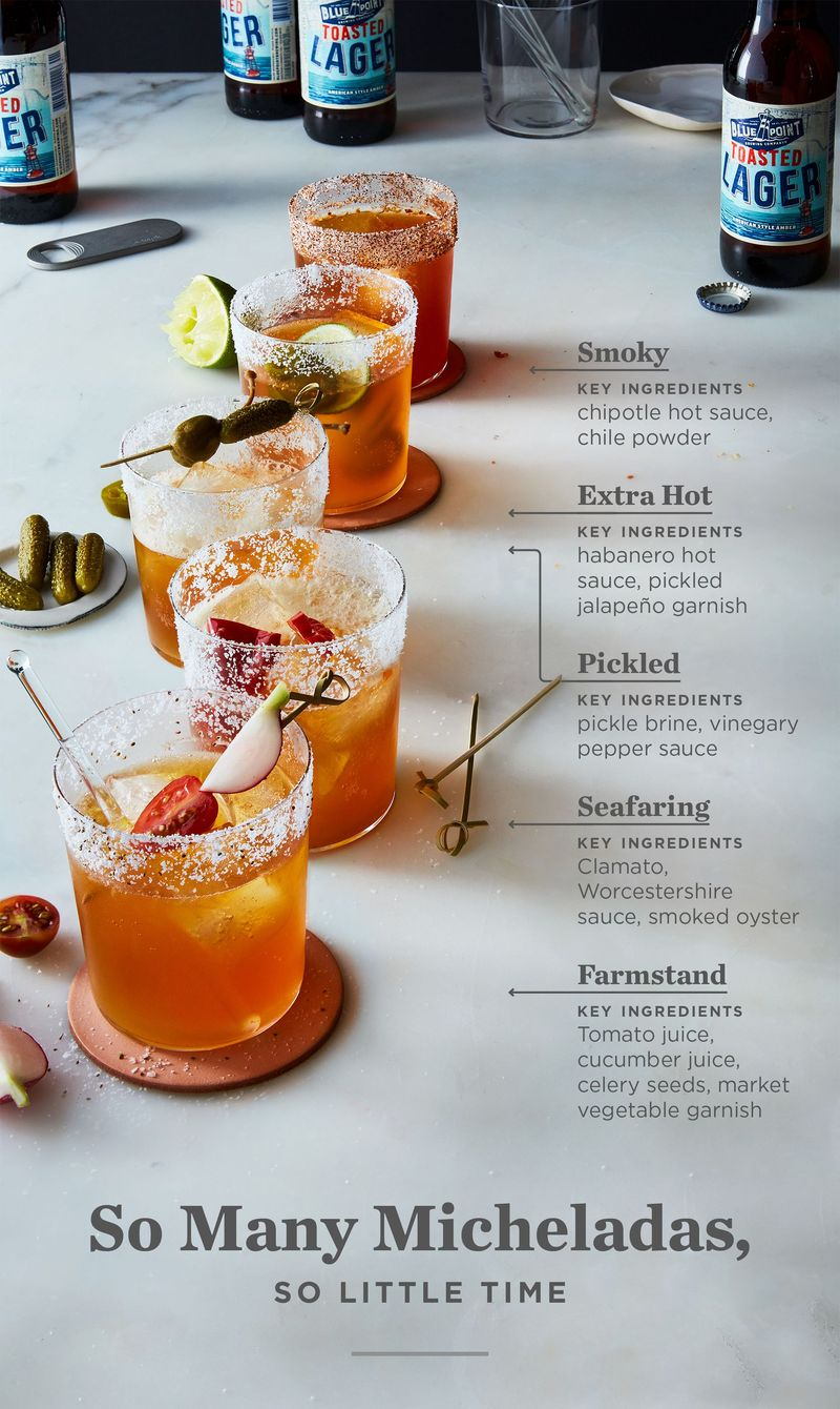 Master the drink of the summer: 5 ways to up your Michelada Game at Food 52