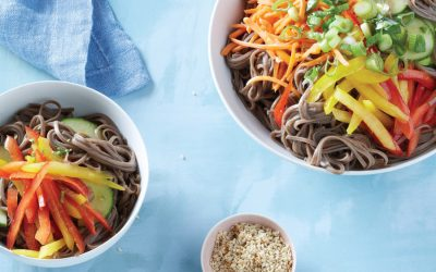 Next week's meal plan: 5 easy recipes for the week ahead, from oven BBQ chicken to our favorite cold noodle salad.