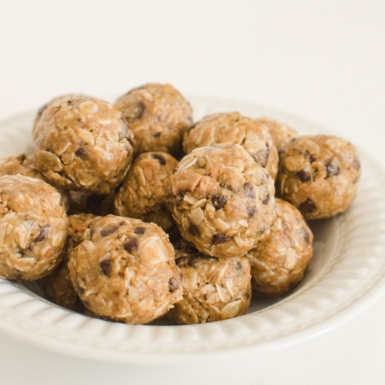 Best travel snack recipes: Peanut Butter Chocolate Energy Bites at Bless this Mess