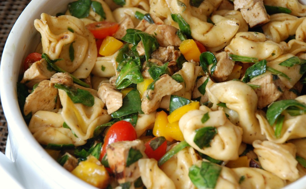 Weekly meal plan: Tortellini Pasta at Multiply Delicious