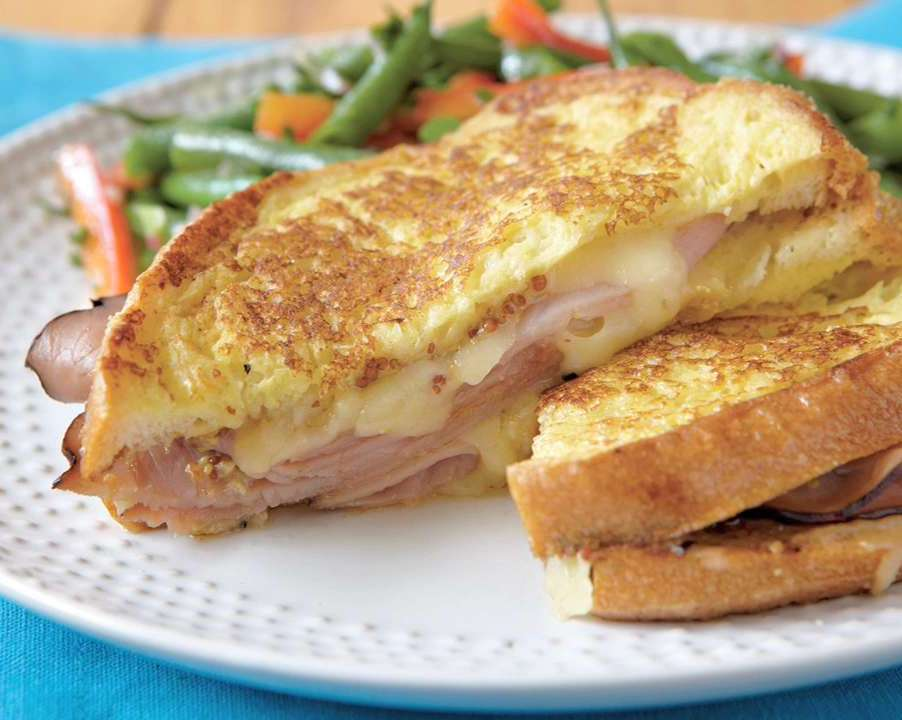 Best 30 minute meals for families: Dijon Croque Monsieur at Cooking Light