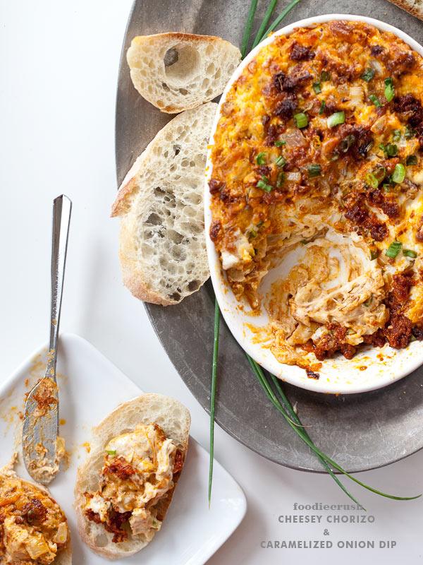 Labor Day recipe extravaganza: Chorizo Cheese Dip | Foodie Crush