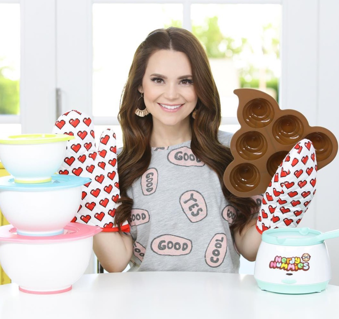 Nerdy Nummies has a new baking line coming out. Fun! | Cool Mom Eats