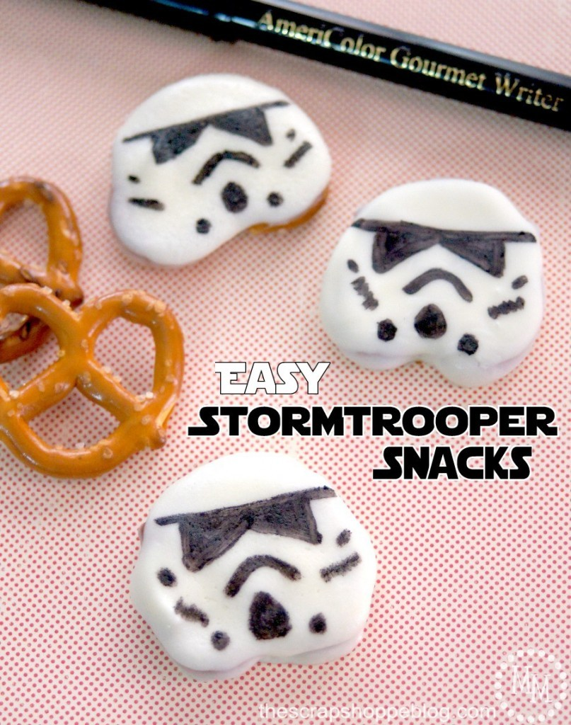 Star Wars recipes for Force Friday! Easy Stormtrooper Snacks at Scrap Shoppe blog