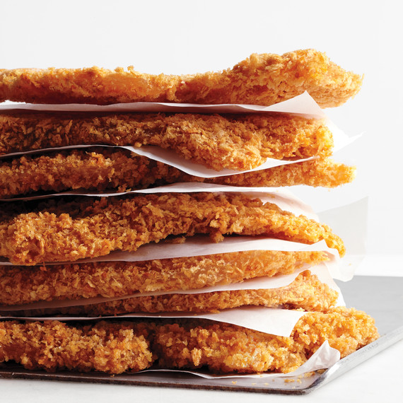 Back to school freezer meals: Breaded Chicken Cutlets | Martha Stewart