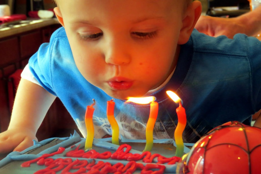 The gross reason you might want to stop blowing out birthday cake candles.