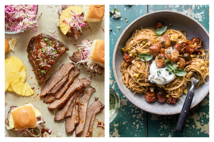 Next week's meal plan: 5 easy recipes for the week ahead, from Hawaiian Brisket Sandwiches made in a slow cooker to the ultimate summer pasta.