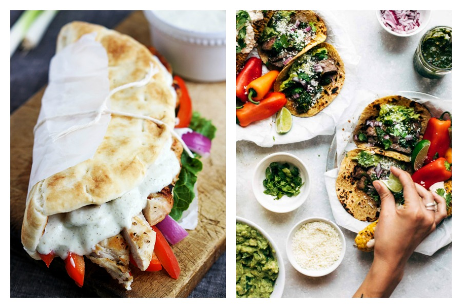 Next week's meal plan: 5 easy recipes for the week ahead, from easy Chicken Gyros to Chimichurri Steak Tacos