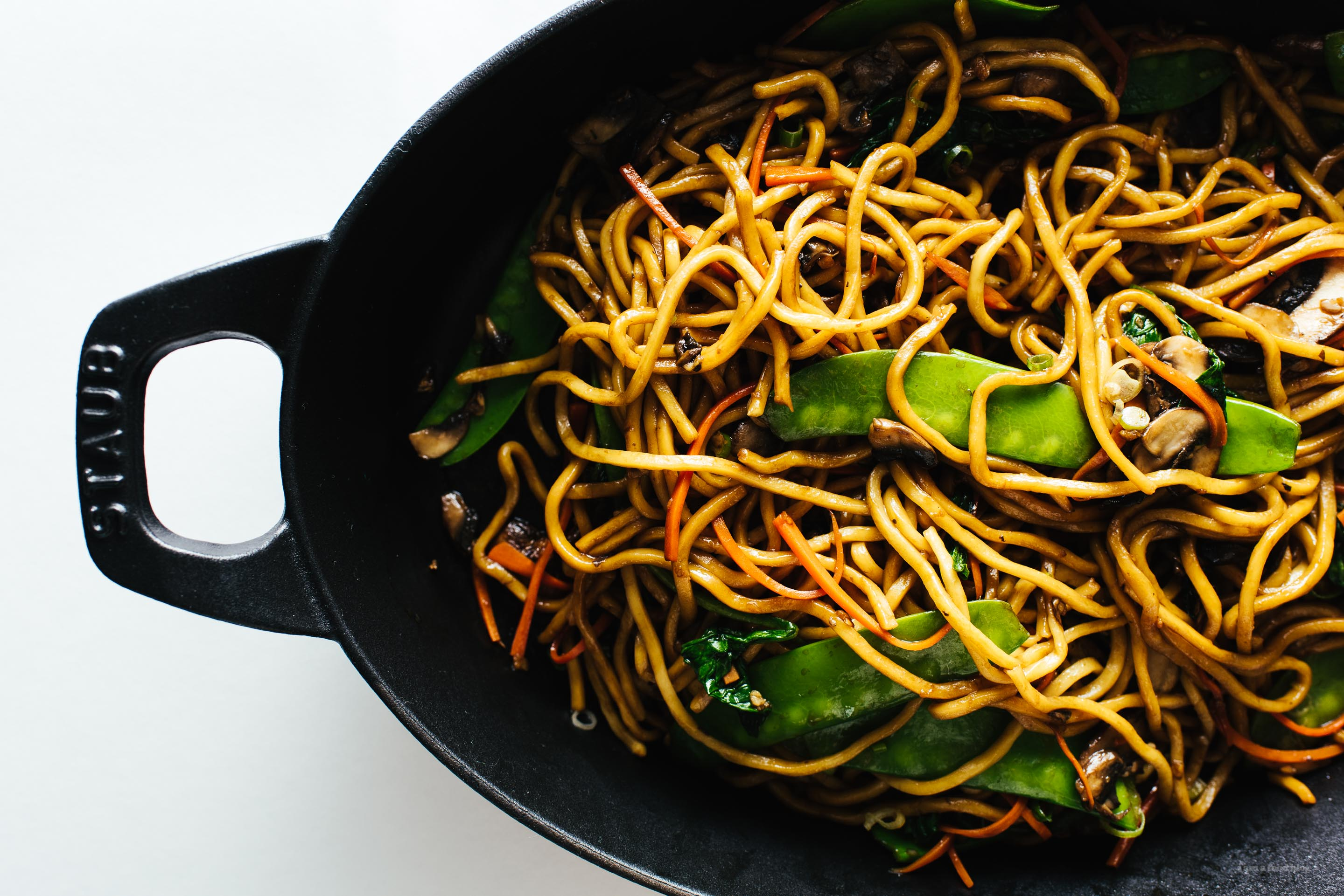 Cool Mom Eats weekly meal plan: Easy Lo Mein at i am food blog