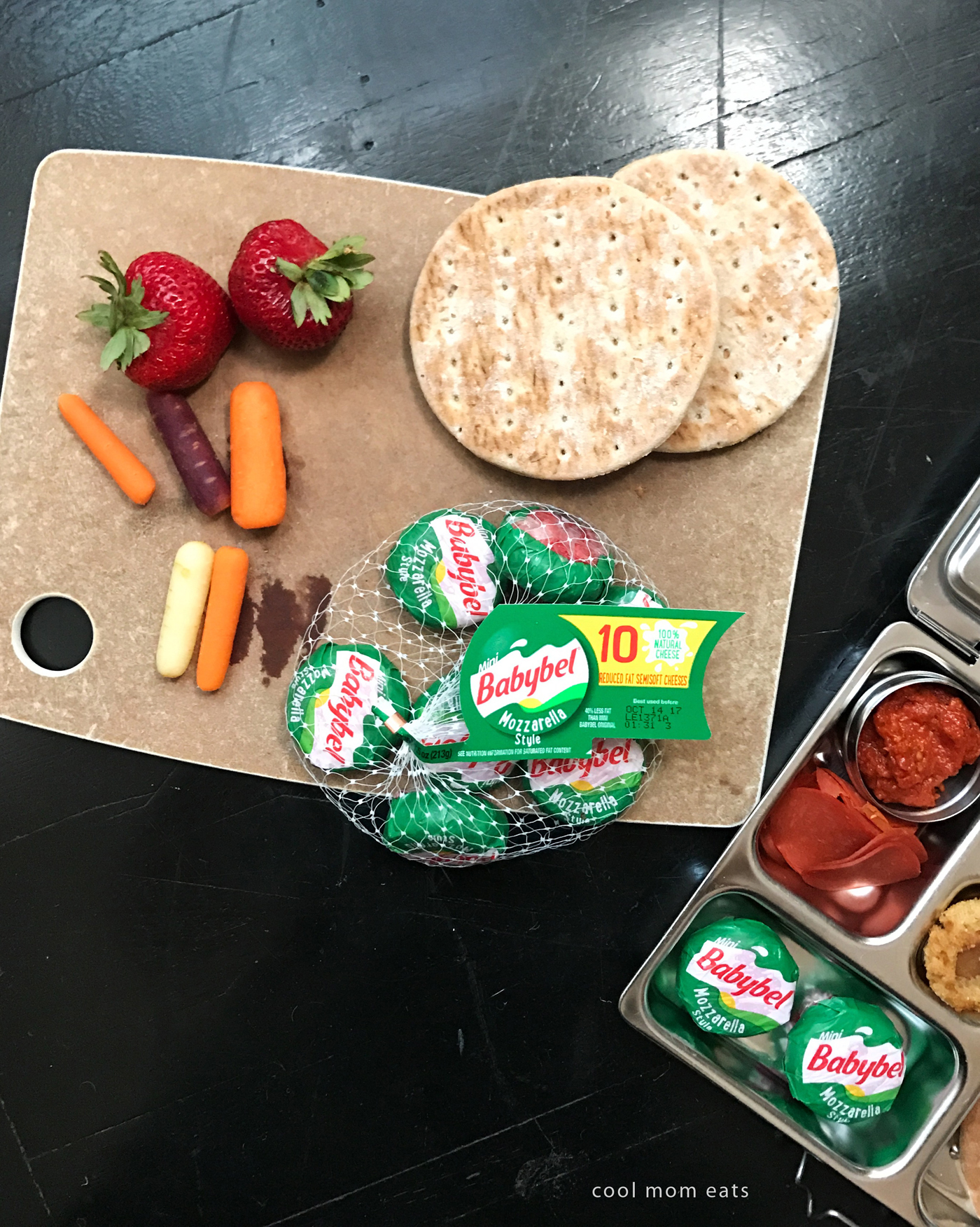 Fun lunchbox ideas to make school lunch more interesting for the kids -- and you too! -- with Mini Babybel | Cool Mom Eats [sponsor]