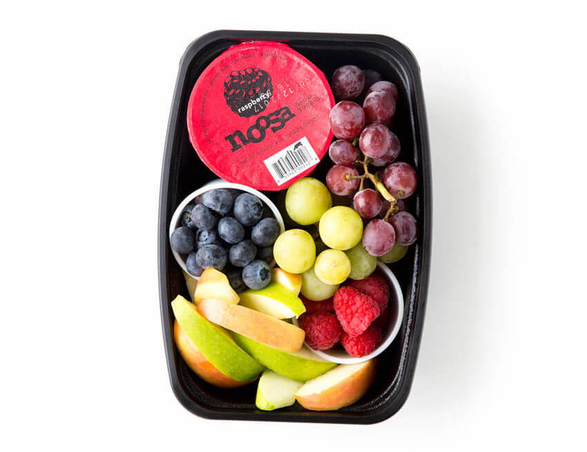 Non-sandwich school lunch ideas: Fruit Salad at Eazy Peazy Mealz