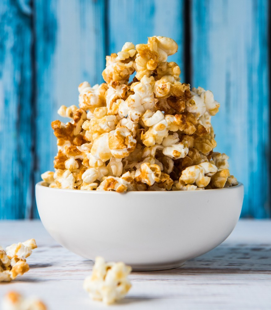 Nut-free snack recipes: School Lunch Box popcorn at Whole Food Simply