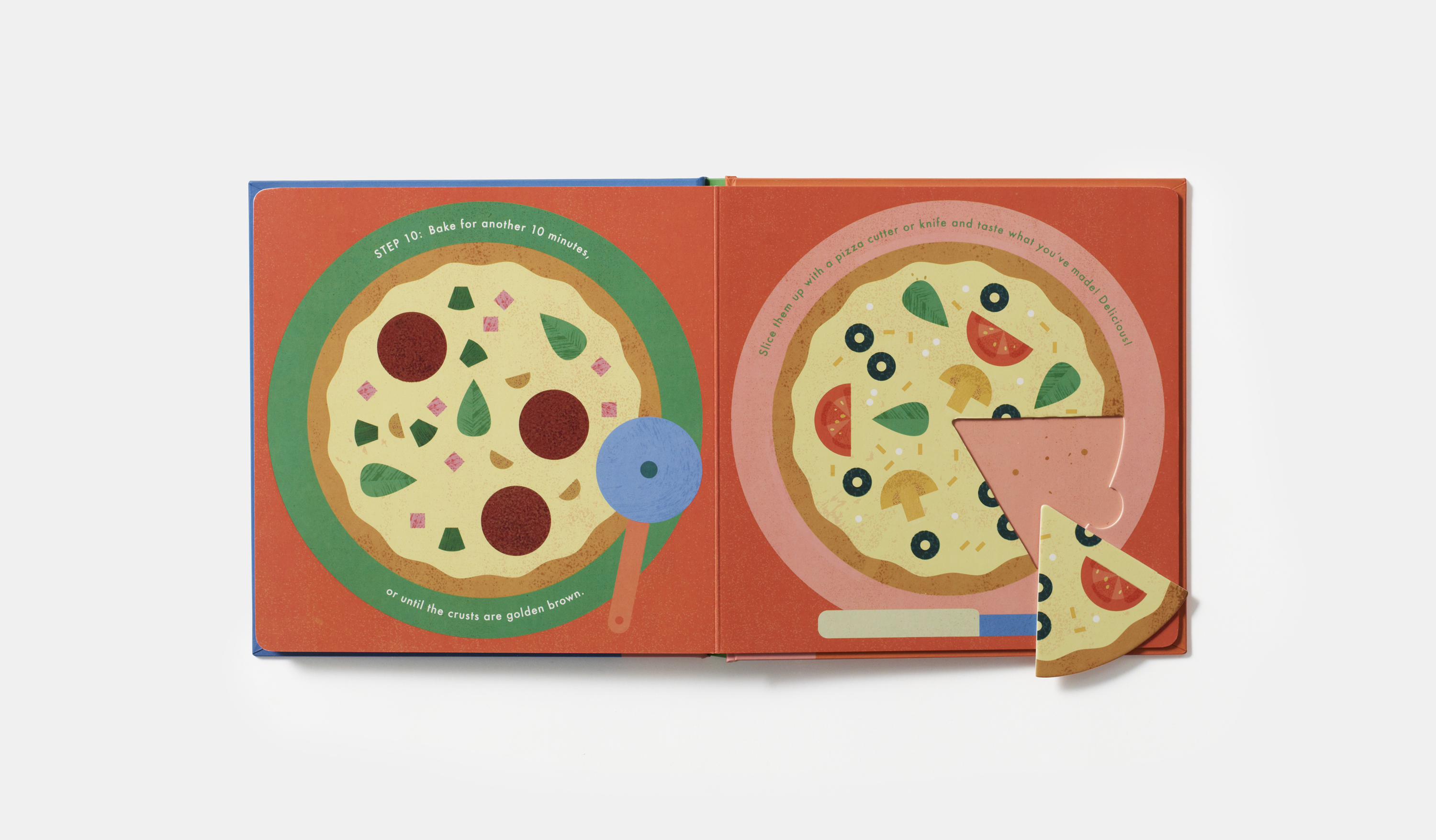 Cook in a Book: Pizza | A new series of food books for little kids that we're loving! | Cool Mom Eats