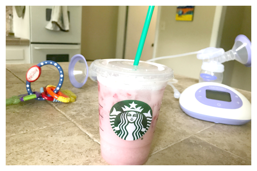 Does the Starbucks Pink Drink actually increase breast milk supply? I tried it to find out.