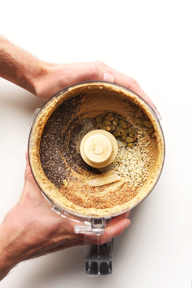 DIY Sunflower seed butter recipe: Super Seedy Sunflower Butter | Minimalist Baker