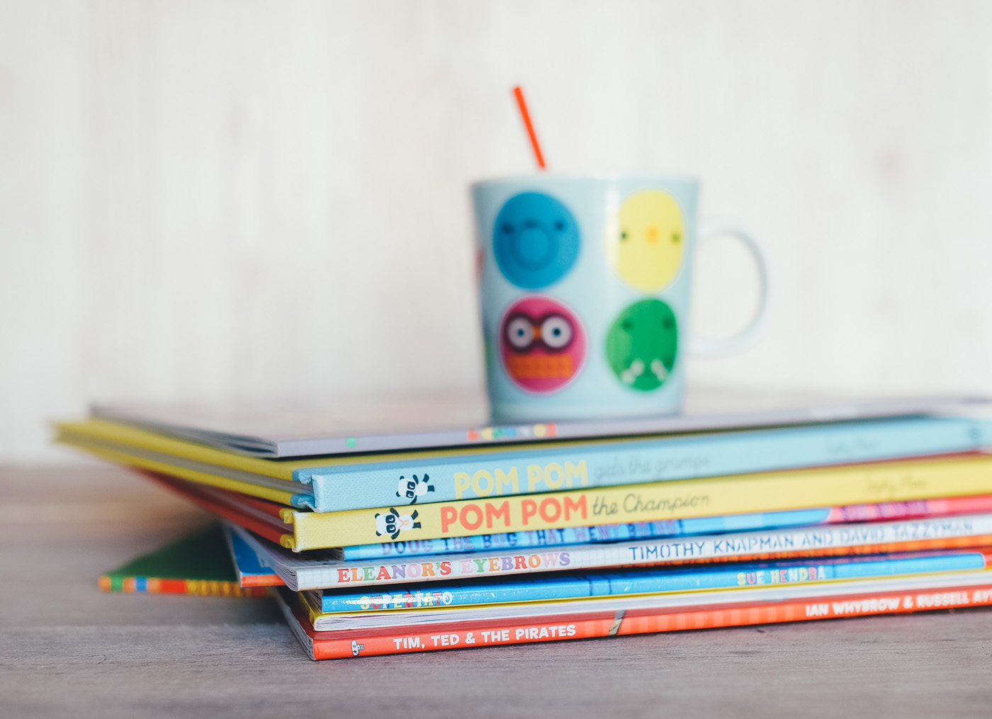One of our favorite ways to teach kids about healthy eating away from the pressure of mealtime is to stock up books about food for kids | Cool Mom Eats