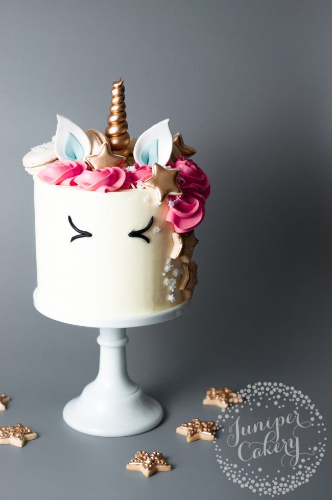 Ways to make over a store-bought cake: Unicorn Cake Tutorial | Craftsy