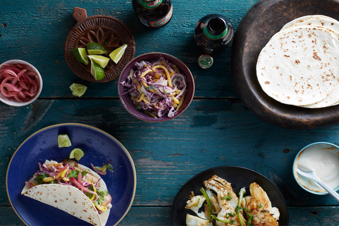 Cool Mom Eats weekly meal plan: Slow Cooker Carnitas from Make It Easy cookbook by Stacie Billis