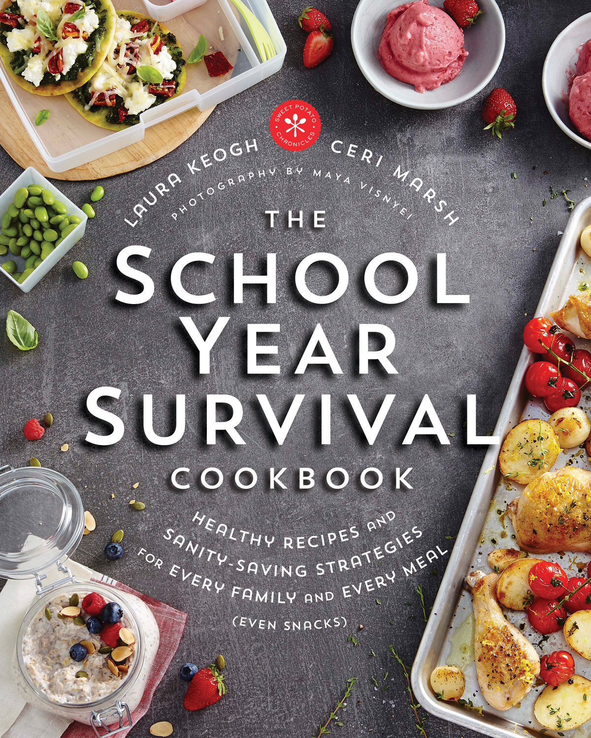 The School Year Survival Cookbook -- a new favorite source of recipes and tips for the family cook | review at Cool Mom Eats