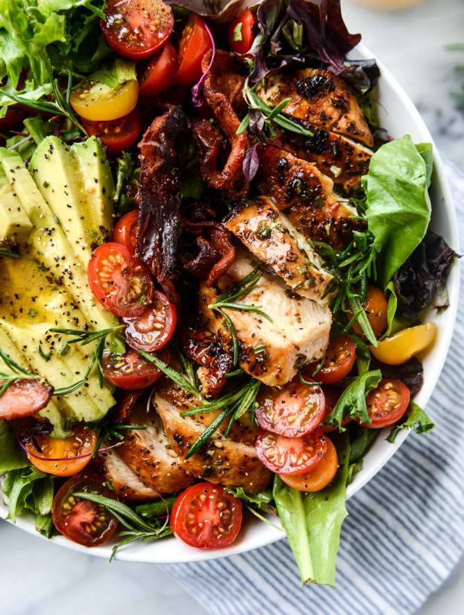 Meal kit delivery services compared: DIY your own dinners, with Chicken Avocado Salad at How Sweet Eats