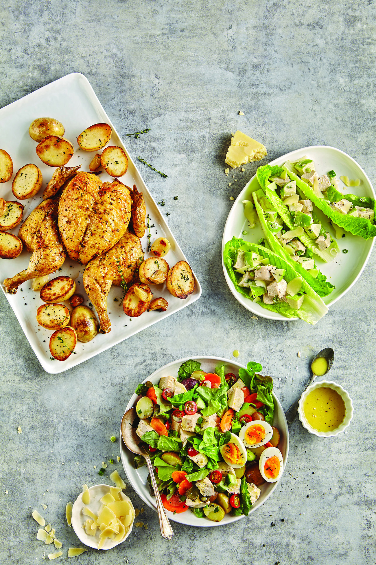 The Chicken Transformer recipe from the School Year Survival Cookbook: One basic chicken recipe, three dinners for the week. Genius! | Cool Mom Eats
