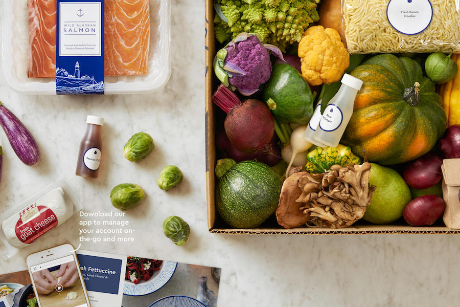 Practical Valentine's gifts for her: A meal kit subscription service like Blue Apron