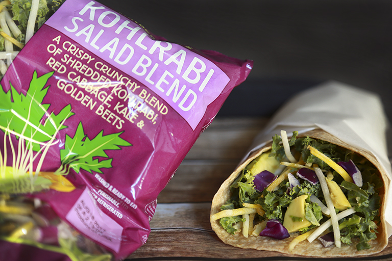 New products to pick up at Trader Joe's this month: Kohlrabi Salad Blend | Cool Mom Eats