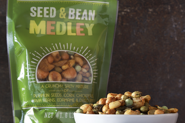 New products to pick up at Trader Joe's this month: Bean and Seed Snack Medley | Cool Mom Eats
