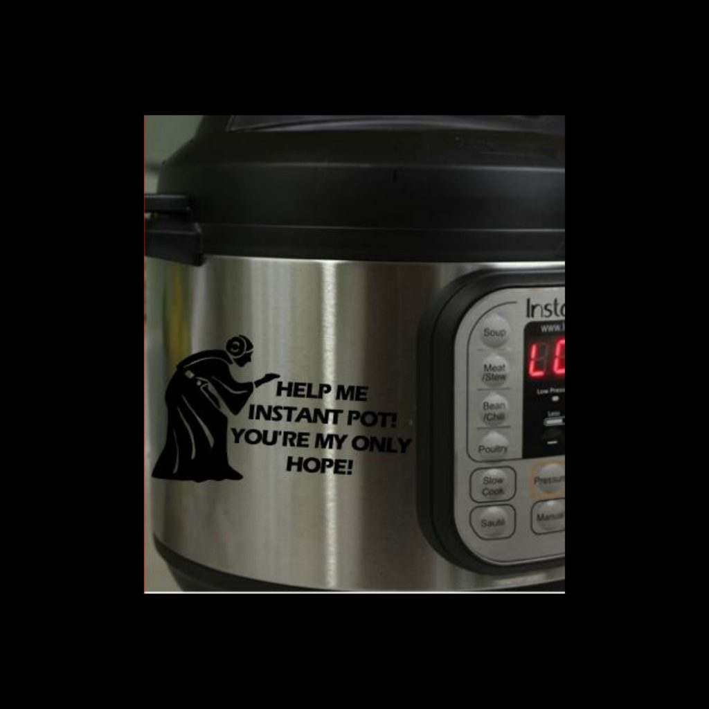 Star Wars Instant Pot Decal