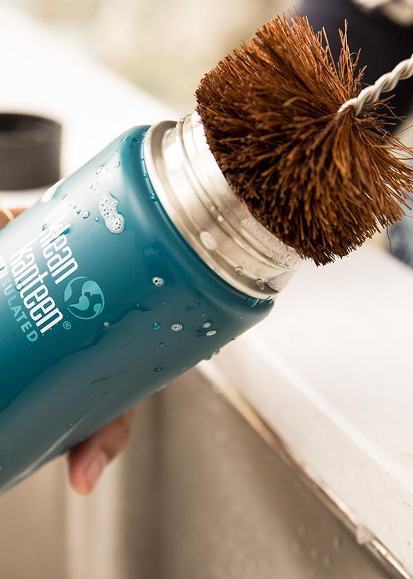 Tips for cleaning water bottles: Kleen Kanteen brush | Cool Mom Eats