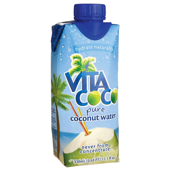 Low-sugar juice box alternatives for school lunch: Coconut water | Cool Mom Eats